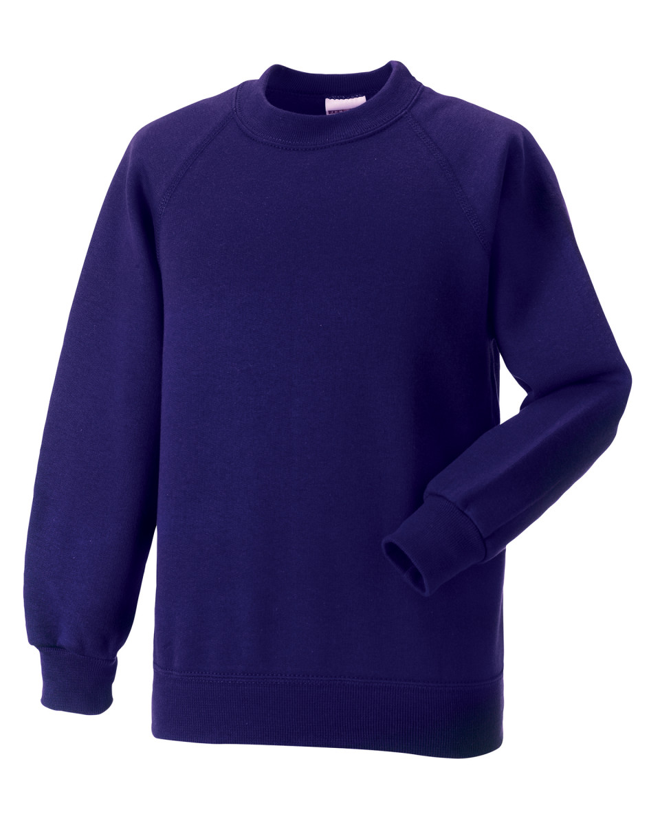 Clayton Village Primary Purple Sweatshirt