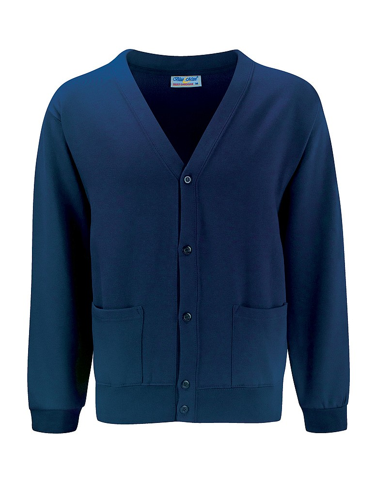 Stocks Lane Navy Cardigan