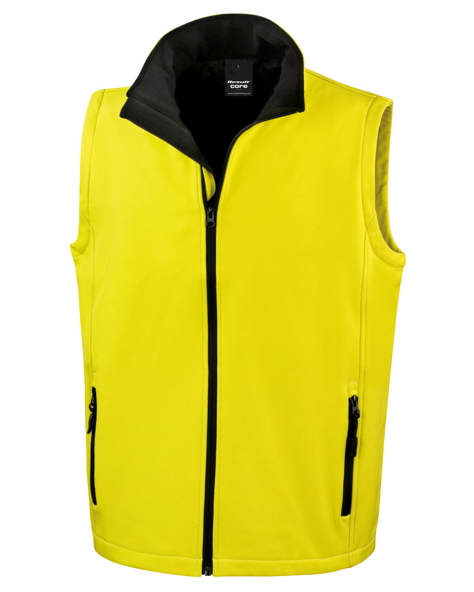 Result Mens Softshell Bodywarmer