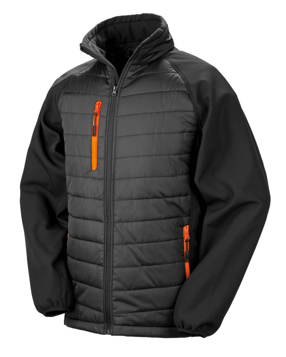 Result Black Compass Padded Softshell Image