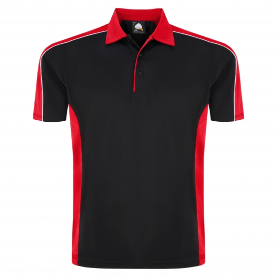 Orn Avocet Two Tone Polyester Polo Shirt