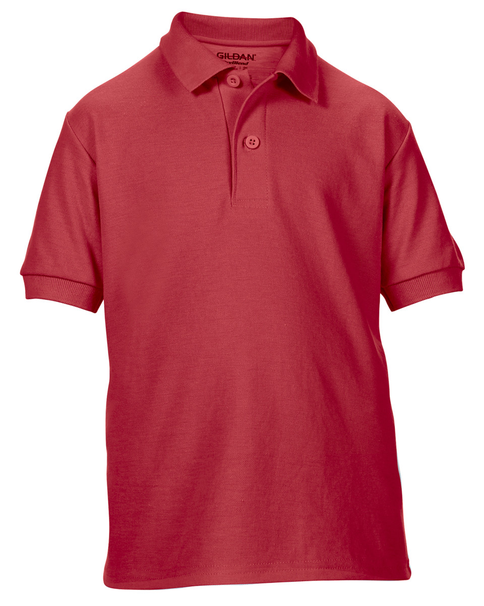 Gildan DryBlend Youth Double Pique Polo