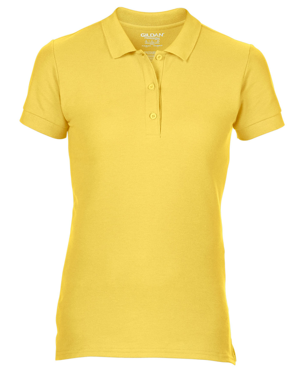 Gildan Premium Cotton Ladies Double Pique Polo