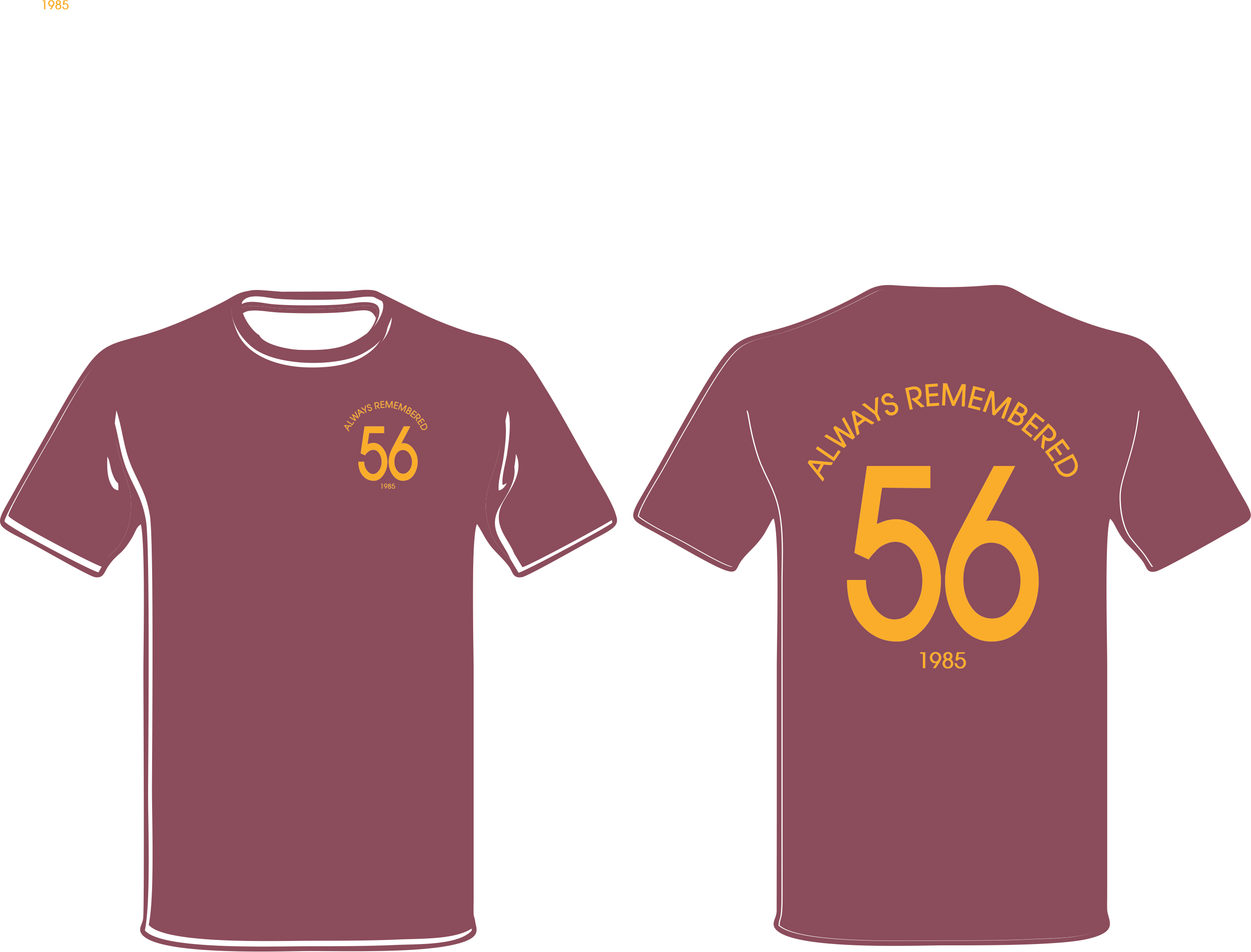 Always Remembered 56 Burns Unit Adult T Shirts