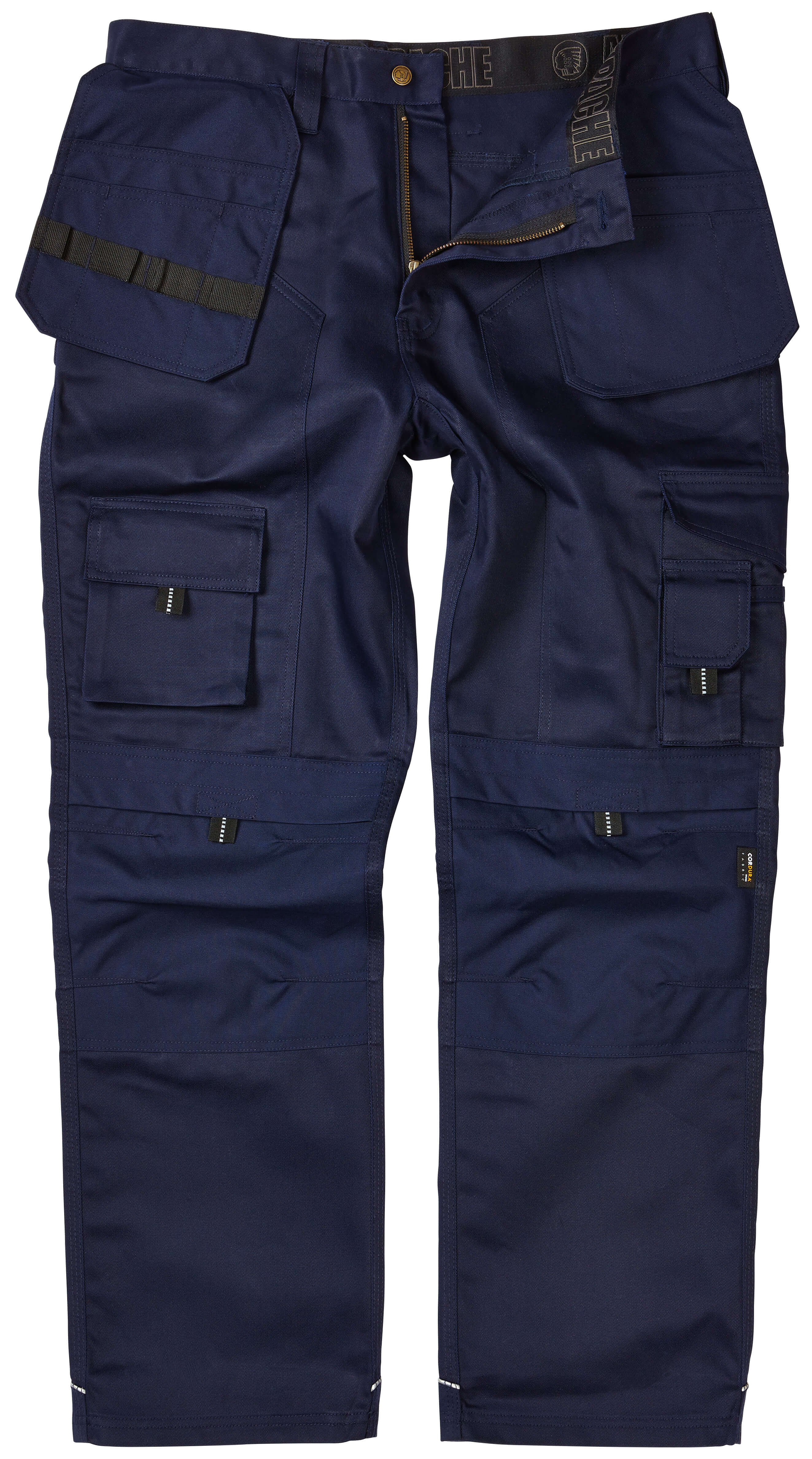 Apache Navy Knee Pad Holster Trouser