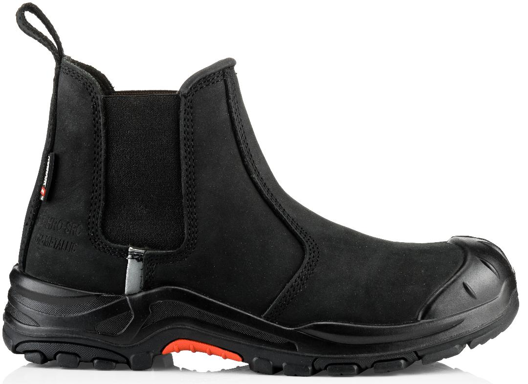 Buckler Boots Safety Dealer Boot Black